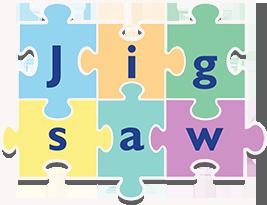 267 x 205px jigsaw-logo-FINAL_white stroke drop shadow v2
